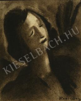 Ruzicskay György - Fiatal nő