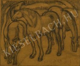 Ziffer, Sándor - Horses (1917)