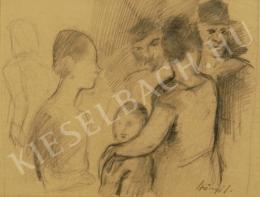 Szőnyi, István - Family (1920s)