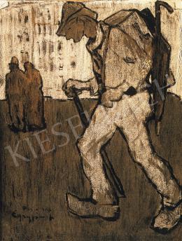 Egry József - Vándor festő