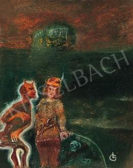 Gulácsy Lajos - Lovag és az ördög