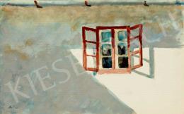 Szőnyi István - Nyitott ablak