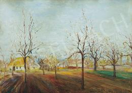 Kernstok, Károly - Early spring in the gardens