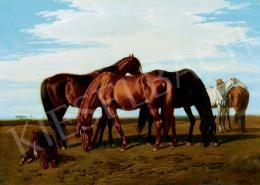 Lotz, Károly - Horses