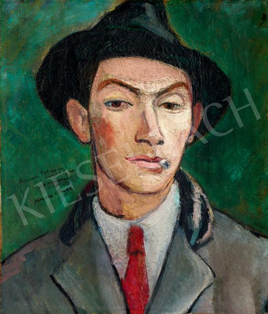 Korda Vince - Fiatalember (Önarckép) | 40. Aukció aukció / 86 tétel