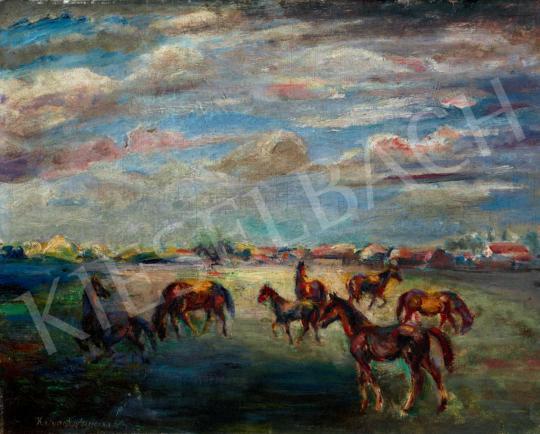 Kernstok Károly - Lovak | 40. Aukció aukció / 187 tétel