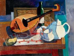 Sugár Andor - Csendélet mandolinnal