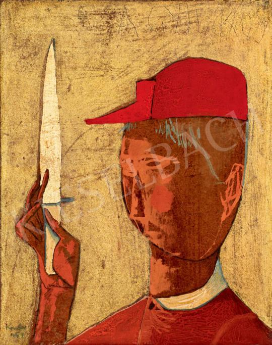 Kondor, Béla - Man with a Knife | 40th Auction auction / 118 Item