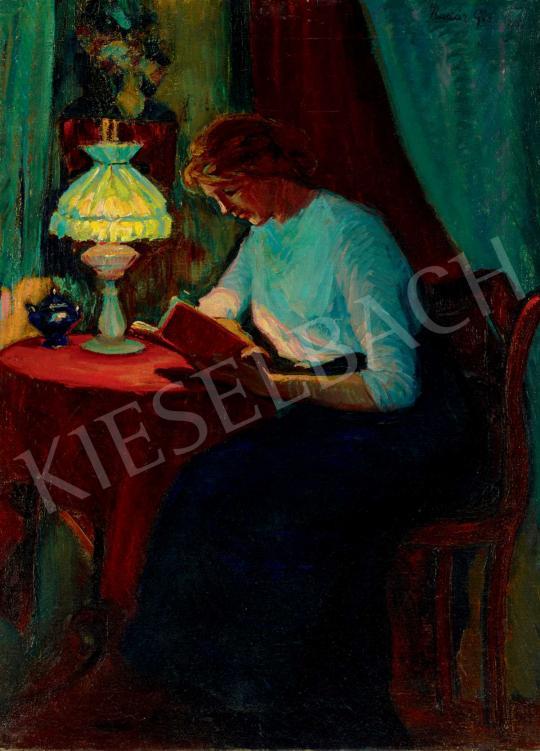 Kádár Géza - Olvasó lány   40. Aukció aukció / 121 tétel