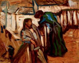 Egry József - Párkapcsolat (Teraszon)