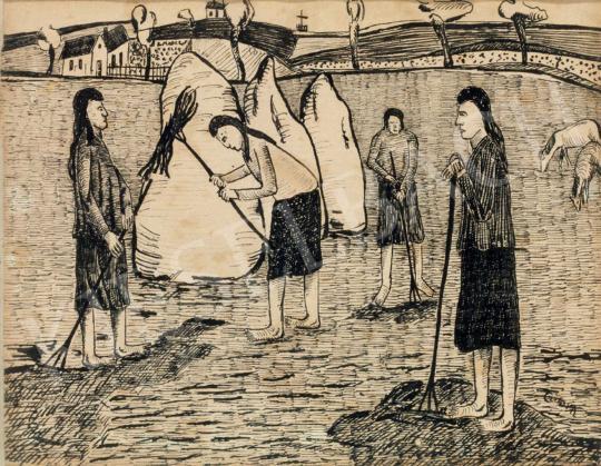 Czimra Gyula - Hommage Gauguin   40. Aukció aukció / 128 tétel