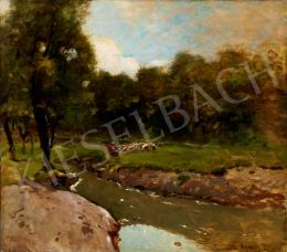 K. Spányi, Béla - By the Brook