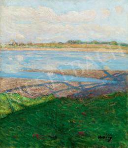 Hollósy, Simon - River-side