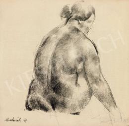 Aba-Novák, Vilmos - Nude Sitting
