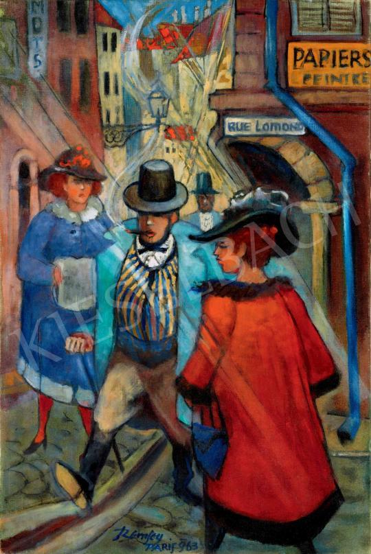 Remsey Jenő György - Párizsi hangulat | 40. Aukció aukció / 163 tétel