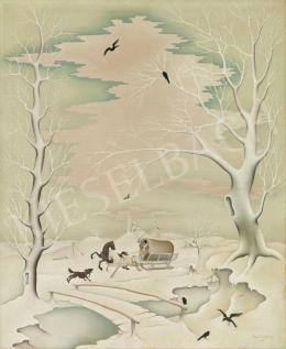 Basilides Barna - Téli mese
