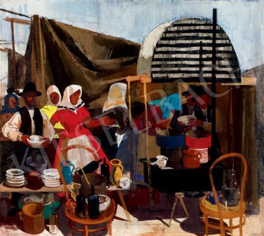 Aba-Novák, Vilmos - In the Market | 40th Auction auction / 148 Item