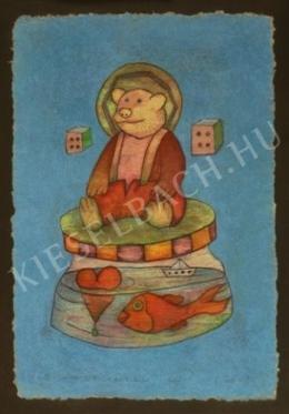 efZámbó István - Szőrös Szent Maci Edwinista Dobókockákkal