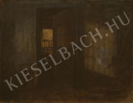 Vojnich Erzsébet - Műterem este
