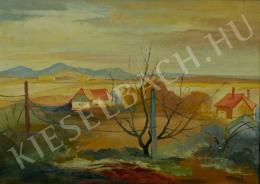 Istókovits Kálmán - Házak dombok között (1940 körül)