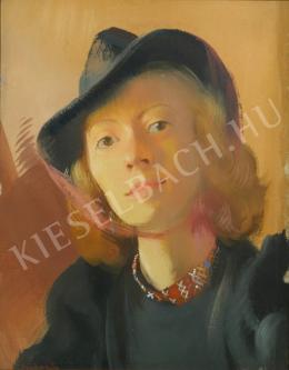 Istókovits Kálmán - Fiatal lány (1940 körül)