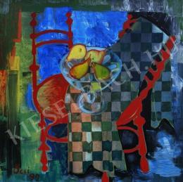 Szemán Ferenc - Csendélet gyümölcsökkel (1992)
