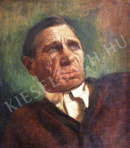 Farkas György - Egry József portréja (1952-53 körül)
