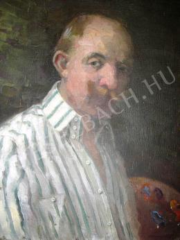 Haller György - Önarckép