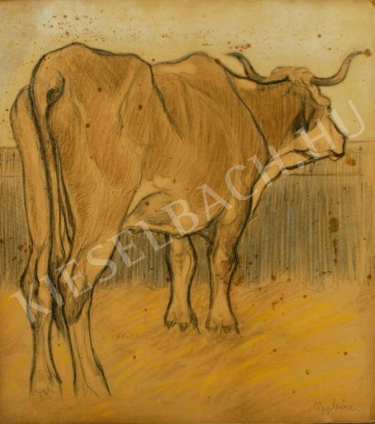 Eladó Pap Géza - Tehén festménye