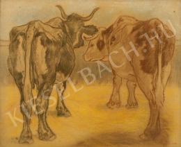 Pap, Géza - Cows, c. 1910