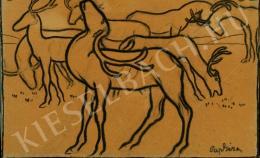 Pap, Géza - Deers, c. 1910
