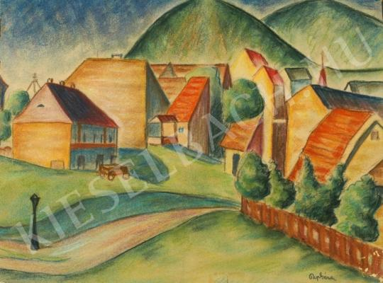 For sale Pap, Géza - Village at Hills 's painting