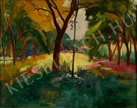 Bornemisza, Géza - In the Park painting