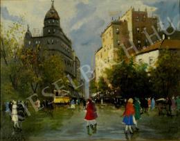 Berkes Antal - Nagyvárosi utca