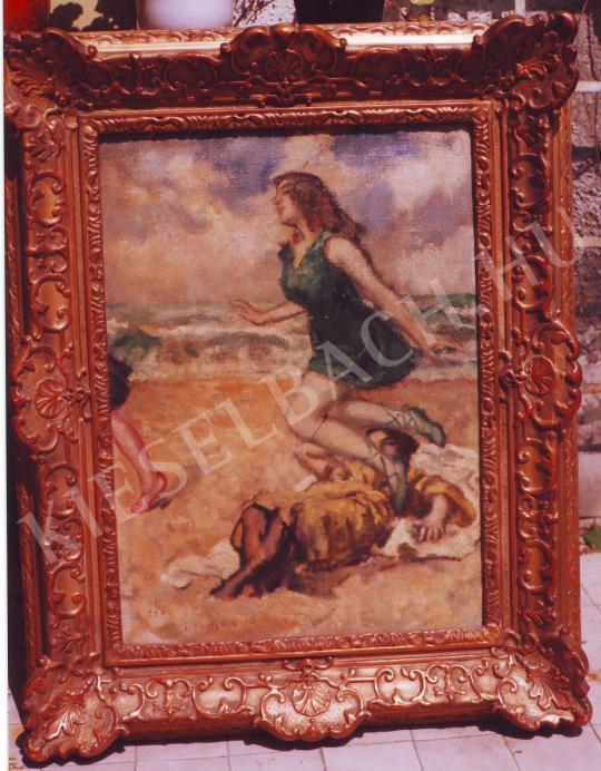 Csók István - Lidó festménye