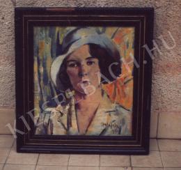 Holesch, Dénes (Denes de Holesch) - Portrait of a Woman
