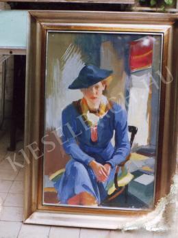 Istókovits Kálmán - Női portré