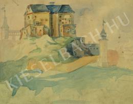Ismeretlen művész - Várkastély (1940 körül)