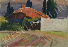 Barta István - Napsütéses ház (Szentendre) (1930 körül)