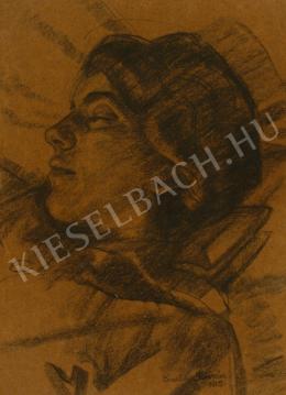 Barta István - Szendergés (Alvó nő) (1915)