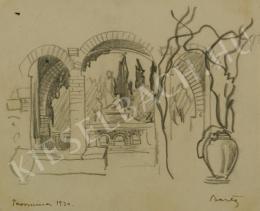 Barta István - Taorminai kert (1930)