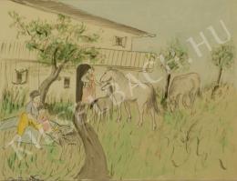 Barta István - Idill (Mese lovakkal) (1910 körül)