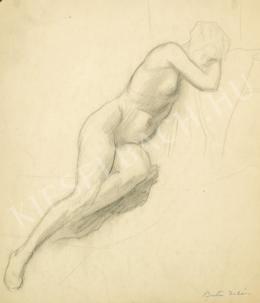 Barta István - Modell (Akt műteremben) (1910 körül)