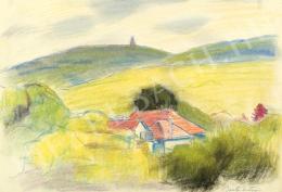 Barta István - Budai hegyek (János-hegyi kilátó) (1960-as évek)