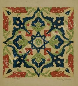 Barta István - Növénytanulmány II. (Ornamentika) (1907)