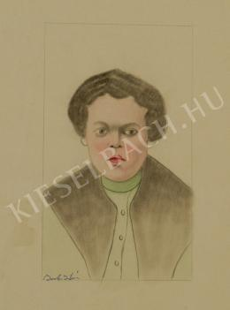 Barta István - Sógornő (1910 körül)