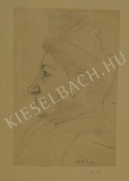 Barta István - Nagymama (Idős asszony) (1908)