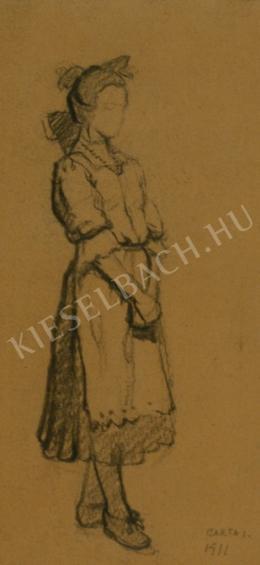 Barta István - Cselédlány (1911)