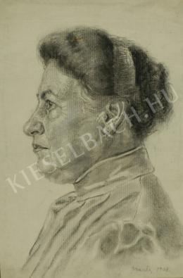 Barta István - Nagymama (1908)