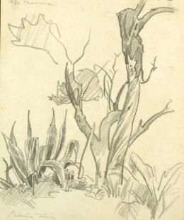 Barta István - Taormina (Agavék) (1930)